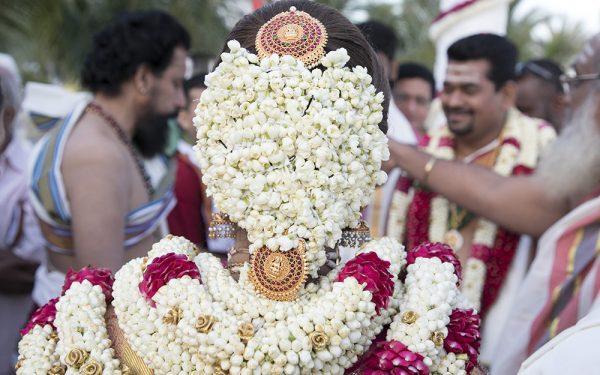 HAIR FLOWER SHADI INDIAN WEDDING BRIDE DRESS SHADI