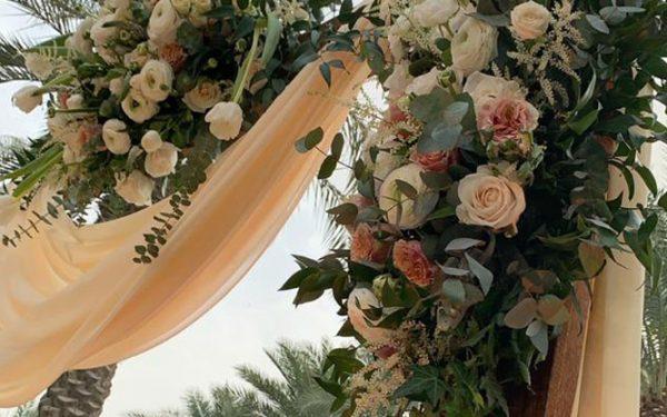 Arch Magnolia al qasr madinat Jumeirah Magnolia al qasr madinat Jumeirah wedding