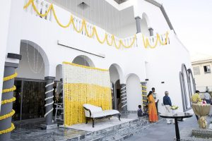 Haldi indian wedding Dubai palm