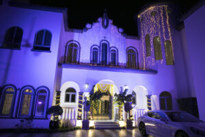 Haldi indian wedding Dubai palm jumeirah