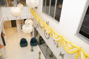 Haldi indian wedding Dubai palm jumeirah party