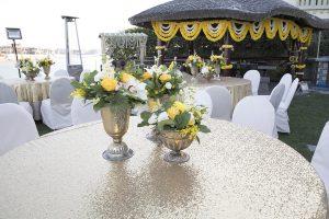 Haldi pakstani wedding Dubai palm jumeirah