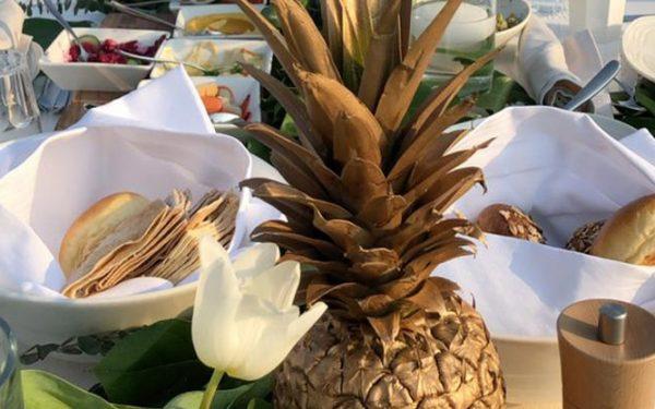 Ola Farahat outdoor wedding at t Nikki beack Dubai