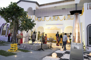 Villa Haldi indian wedding Dubai palm jumeirah