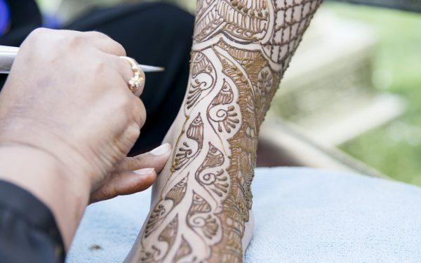 feet Wedding Mehendi Dubai planner