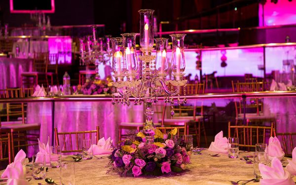 flower MUSIC HALL CEREMONY INDIAN WEDDING ZABEEL SARAY