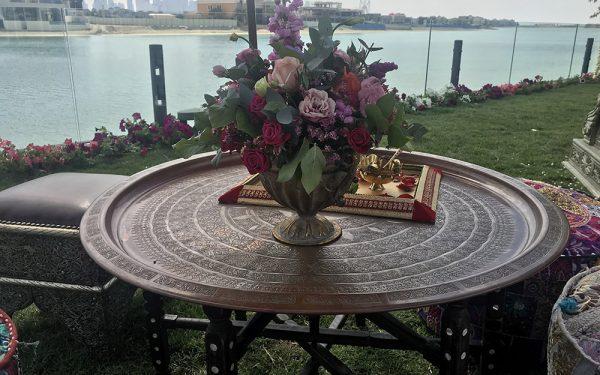 outdoor Wedding Mehendi Dubai planner